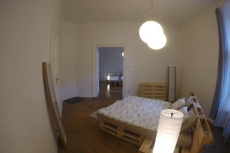 Two Charming Rooms for 5 People in Centre location - Prague - Apartment