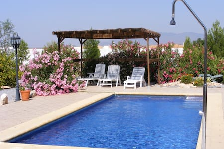 Beautiful Villa apartment with private pool & wifi - Albox - Apartamento