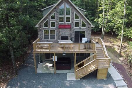 Lake Harmony Lodge Free Linens - Lake Harmony - Hytte (i sveitsisk stil)