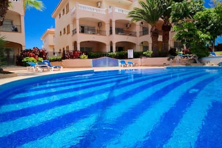 Sun, pools, a/c, wifi, studio, sleeps 2, #107 - Santa Cruz de Tenerife - Appartement