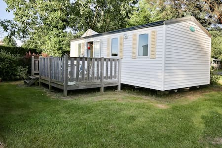 Mobile-home 4 places sur camping avec piscine - La Mothe-Achard