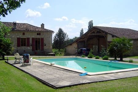 19th century French farmhouse - Miramont-de-Guyenne - House