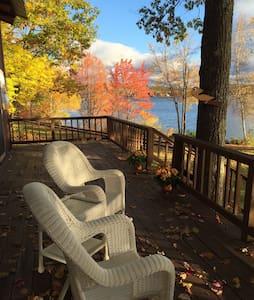 Gorgeous Winnipesaukee Lake House - Cottage