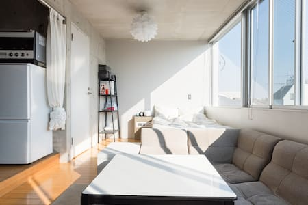 Cozy designer apt Shinagawa/Haneda - Shinagawa-ku