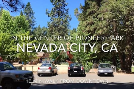 In town, In Park!  Cozy Private Twin Bedroom - Nevada City - House