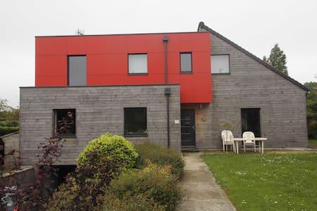 loue chambre 1 ou 2 personnes avec terrasse - Maan sisään rakennettu talo