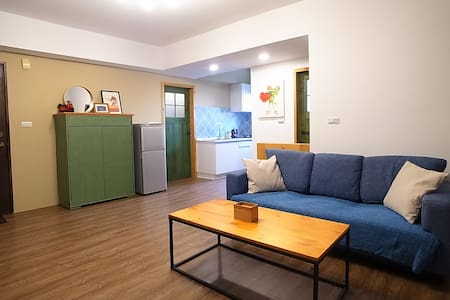 Brand new 2 bedroom apartment 捷運站旁全新2~5人房 - Zuoying District - Helt våningsplan