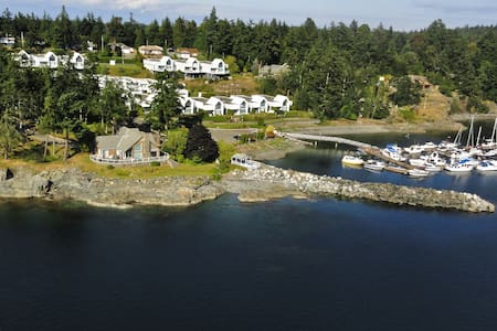 Spectacular oceanfront home with panoramic views - Nanoose Bay