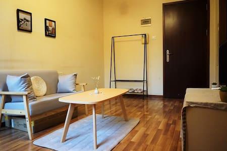 清雅日式主题公寓整租 小飘窗满满的情调 靠近福田口岸皇岗口岸华强北 交通生活便利 - Shenzhen - Appartement