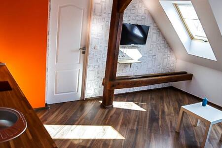 Charming loft appartment in center - Huoneisto