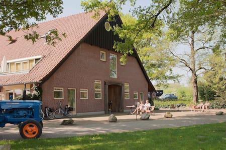Uniek landgoed in de natuur nabij Ootmarsum - Apartament