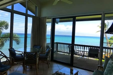 Ocean Front - Mahina Surf 228 (Two Bedroom Two Bath Oceanfront) - Napili-Honokowai