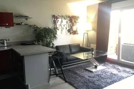 2pièces Rez de jardin/ Parking - Apartment