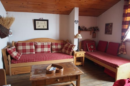 Bel appartement atypique à Valmorel - Les Avanchers-Valmorel - Daire