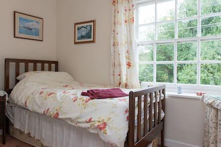 Lovely farm stay B&B - single room - Saint Mabyn - Bed & Breakfast