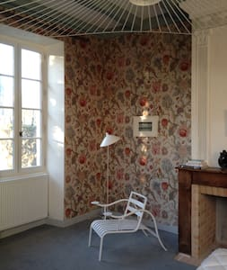 la chambre à fleur du presbytère d'Urval périgord - Bed & Breakfast