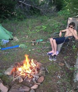 Hike FISH & Camp on Lake Chatuge - Hiawassee - Telt