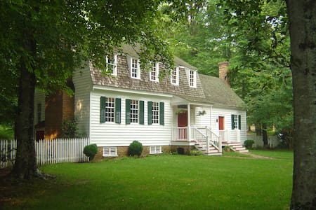 18th Century Plantation House on 100 Acres - Williamsburg - Maison