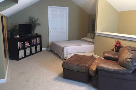 Cozy guest bedroom in Aiken SC - Aiken - Casa