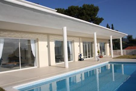 Villa de luxe sécurisée  12 p- Piscine et vue mer - Nizza - Villa