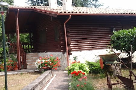 Villa in montagna vicino le piste da sci - Borgorose - Blockhütte