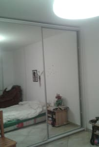 Groundfloor room, double bed. - Apartment