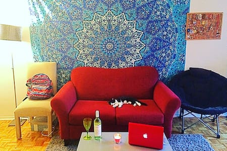Cozy studio apartment Downtown Montreal - Wohnung