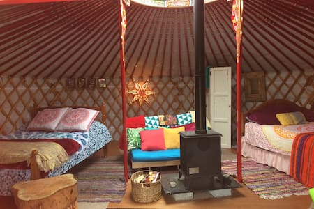 Traditional Mongolian yurt - Yourte
