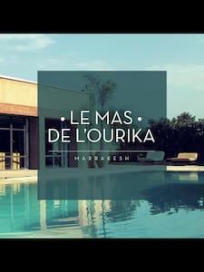 Le Mas de l'Ourika (7rooms-14pers) - Casa de campo