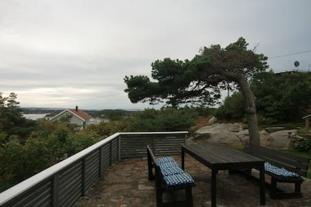 Summer cabin, beautiful fjord view - Fredrikstad - Cottage