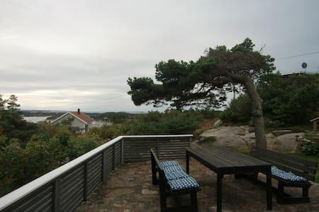 Summer cabin, beautiful fjord view - Srub