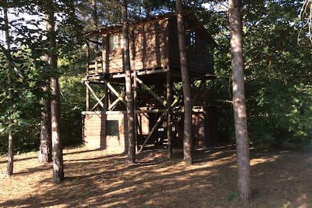 La cabane perchée des carrières - Hénonville