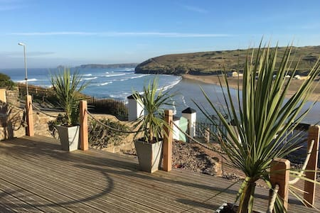 Stunning Sea Views from Apartment by the Beach - Perranporth