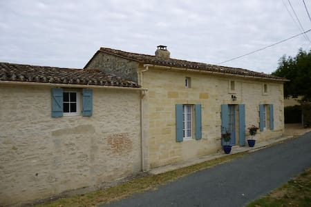 Country Cottage near St Emilion - Casa