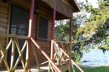 Beautiful bungalow in front of the Bacalar lagoon! - Banglo