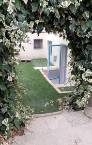 Beau studio avec entrée sur jardin - Sarcelles