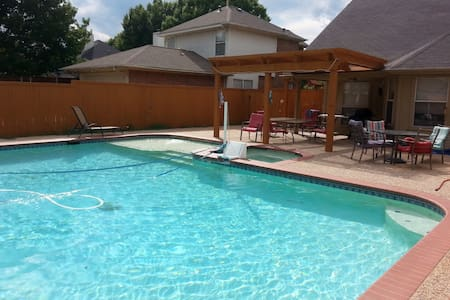 Beautiful 3000 sq ft home pool/spa - Allen - Ev