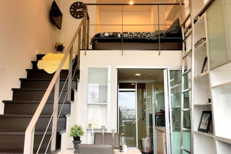 Hip Luxury Duplex~Close to BTS+City center - Bangkok - Appartamento