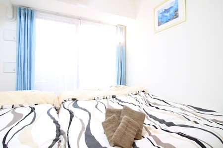 H12★6 min to Ebisucho STA in Namba area★Free WiFi★ - Flat