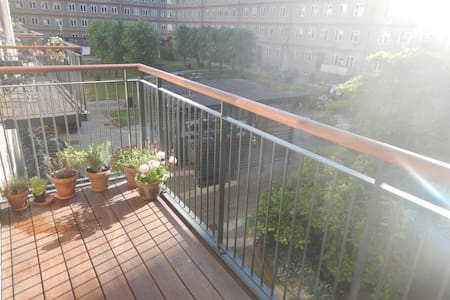 centralt belligende lejlighed - Appartement