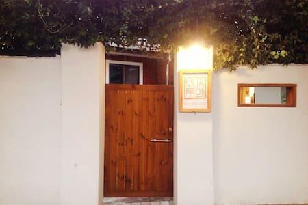 Double bedroom in Mua guesthouse. 무아게스트하우스 - Casa de huéspedes