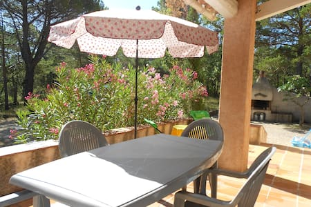 Villa independante, jardin, parking - Tourtour