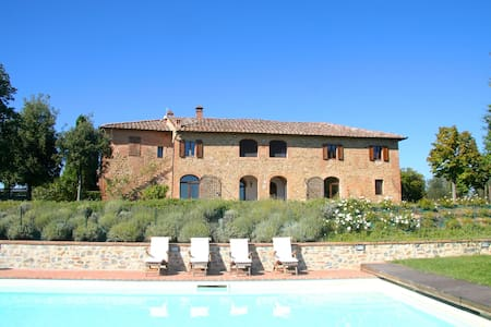 Stunning Villa with privat Pool at 5km from Siena - Siena