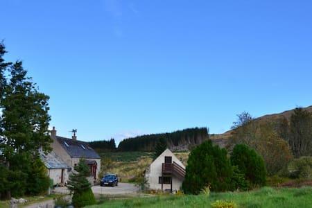 Rural retreat near Loch Ness - Abriachan - Hus