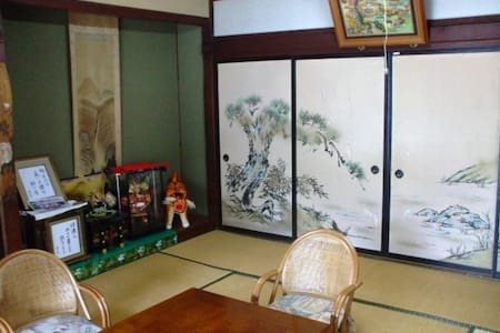 SEIUNKAN 150 yr-old Farmer's Guest Tatami Room - Komoro-shi - Bed & Breakfast