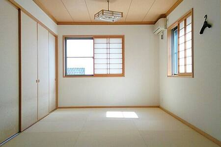 a Japanese modern style tatami room - House