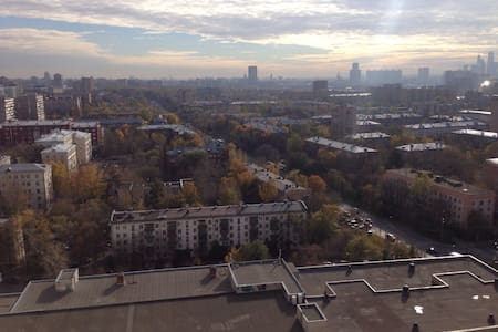 Комната с видом Room with a view - Moskwa - Apartament