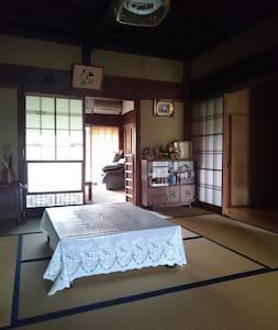 森町のひろびろ一軒家。のんびり田舎のお屋敷生活を体験できます♪ - Mori-machi - Huis