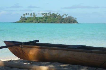 Muri Beach Getaway - 4 BR / 2 BATH - Ngatangiia District