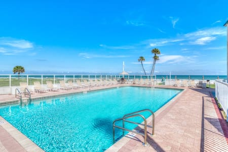 UPDATED OCEAN VIEW CONDO JUST STEPS AWAY FROM THE - Daytona Beach